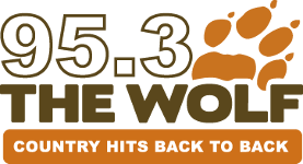 95.3 The Wolf logo